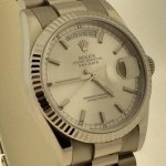 Rolex PRESIDENT DAY DATE SILVER DIAL