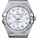 Omega 12315276055001  Constellation  Brushed 27mm Ladies
