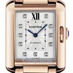 Cartier Wjta0005  Tank Anglaise Medium Ladies Watch
