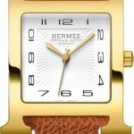 Hermès 036842WW00  H Hour Quartz Large TGM Midsize Watch