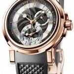Breguet 5857brz25zu  Marine Automatic Dual Time Mens Watch