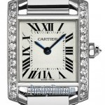 Cartier We1002s3  Tank Francaise Ladies Watch