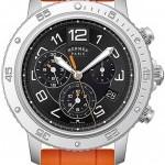 Hermès 039342WW00  Clipper Chrono Alarm Quartz TGM 41mm M
