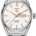 TAG Heuer War201dba0723  Carrera Caliber 5 Day Date Mens Wat