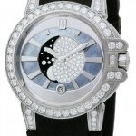 Harry Winston Oceqmp36ww004  Ocean Lady Moon Phase 36mm Ladies W