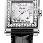 Chopard 278504-2001  Happy Sport Square Quartz Medium Ladi