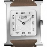 Hermès 036796WW00  H Hour Quartz Medium MM Ladies Watch