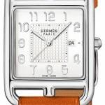 Hermès 040189ww00  Cape Cod Quartz Medium GM Ladies Watch