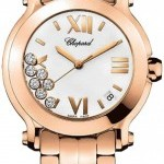 Chopard 277472-5001  Happy Sport Round Quartz 36mm Ladies