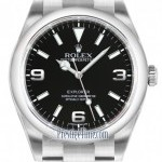 Rolex 214270 Black  Explorer 39mm Mens Watch
