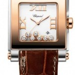 Chopard 278497-9001  Happy Sport Square Quartz Medium Ladi