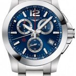 Longines L37004966  Conquest Quartz Chronograph Mens Watch