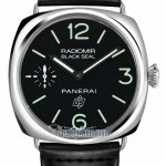 Panerai Pam00380  Radiomir Base Black Seal Mens Watch