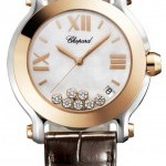 Chopard 278492-9004  Happy Sport Round Quartz 36mm Ladies