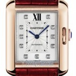Cartier Wjta0006  Tank Anglaise Medium Ladies Watch