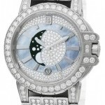 Harry Winston Oceqmp36ww014  Ocean Lady Moon Phase 36mm Ladies W
