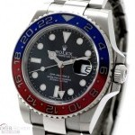 Rolex GMT-Master II Ref-116719BLRO 18k White Gold Papers