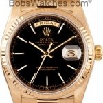 Rolex Used Mens  President Gold Day-Date Model 18038