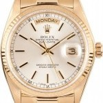 Rolex Mens Used  President Gold Day-Date Model 18038