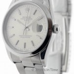 Rolex Mens Date Stainless Steel Automatic Watch 15200