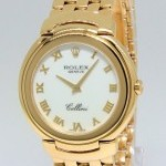 Rolex Cellini 18K Yellow Gold Bracelet Midsize 33mm Quar