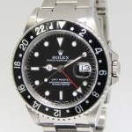 Rolex GMT-Master Stainless Steel Black DialBezel Automat