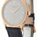 Patek Philippe Mens 5196R Calatrava 18k Rose Gold MINT Box