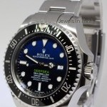 Rolex Deepsea BlackBlue Dial Ceramic Steel Mens Watch Bo