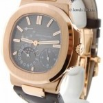 Patek Philippe Jumbo Nautilus 5712 18k Rose Gold Mens BoxPapers M