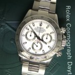Rolex Daytona Chronograph Stainless Steel White Dial Men