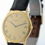 Patek Philippe Mens Vintage Calatrava Automatic 18k Yellow Gold 3
