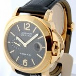 Panerai Luminor Marina 140 18k Gold 44m Mens Watch BoxPape