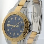 Rolex Mid-Size Yacht-Master 18k Yellow Gold  Steel Yacht