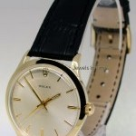 Tudor Vintage Mens 35mm 14k Yellow Gold Automatic Watch