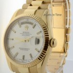 Rolex Day Date 18k Yellow Gold President Automatic Mens