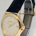 Patek Philippe Calatrava 5127 18k Yellow Gold Mens Watch BoxPaper