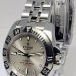 Tudor Hydronaut II Stainless Steel Mens Automatic Dive W
