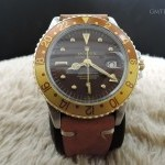 Rolex Gmt Master 2-tone 1675 Chocolate Nipple Dial