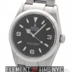 Rolex Stainless Steel Black Dial 2005 36mm