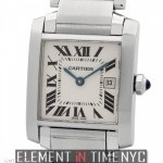 Cartier Tank Francaise Stainless Steel Mid-Size 25mm