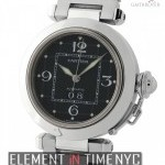 Cartier Pasha C Stainless Steel 35mm Black Dial
