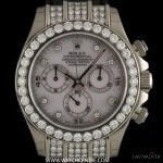 Rolex 18k WG Unworn OP MOP Dial Diamond Set Daytona BP11