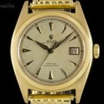 Rolex Rare Vintage Semi Bubble Back Oyster Perpetual 18k