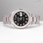 Rolex Date just 116234 diamonds