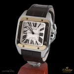 Cartier SANTOS 100 STEEL AND GOLD  ARCM