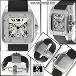 Cartier Santos 100 XL Chrono Ref2740