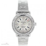 Breitling Aeromarine Colt 33 A77387 300 Ct Custom Diamonds W