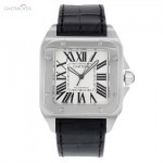 Cartier Santos 100 W20073X8 Stainless Steel Automatic Mens