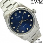 Rolex Precision 6426 No Date blue diamonds dia