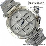 Cartier Pasha 2379 Grill silver dial 2005s